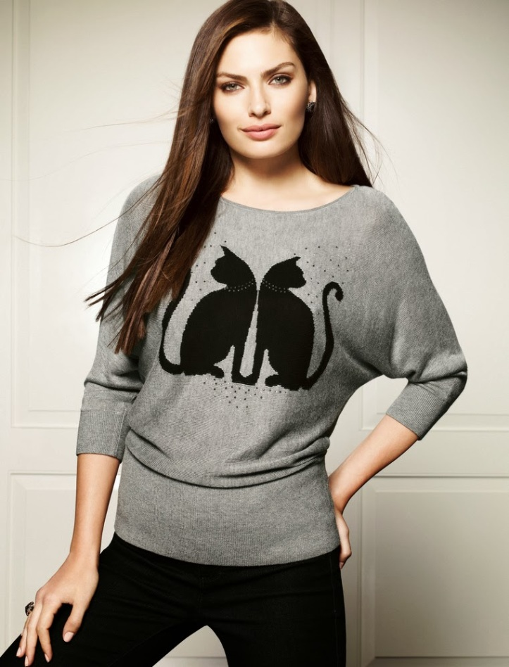 Alyssa Miller for White House Black Market Fall-Winter 2013 (5)